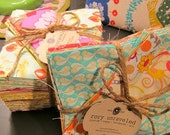 Rag Quilt Kit - Kiddie Size - DIY - CUSTOM - Cut Fabric, Batting, Instructions Included