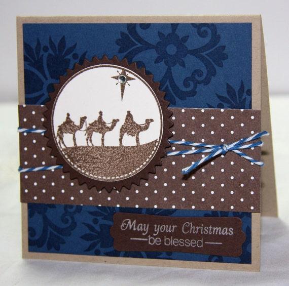 Three Wise Men Christmas Card Set - Set of 2