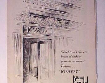 1944 Metropolitan Opera House  November Program Vintage Art Deco
