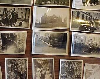 Art Deco Roaring 20s 1928 1929 Ferris Institute Big Rapids Michigan College University 14 Photos Lot Ladies Costume Drama