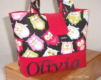 Personalize Owl Children Handbag