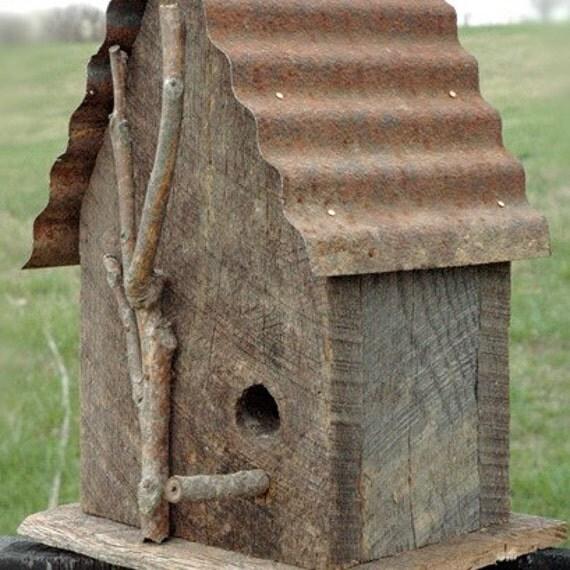 Rustic Birdhouse 2