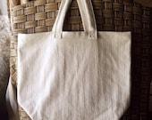 Reusable Shopping Tote, canvas shopping tote, U.S. Grown Organic Cotton shopping bag