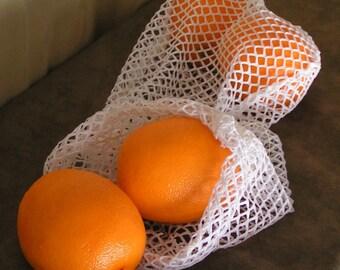 HEAVY DUTY Reusable produce bag set of 4 - medium - large