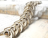 Bracelet,  Vintage RARE - Chic Snake - Haute Couture