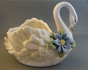 Vintage Open Back Swan