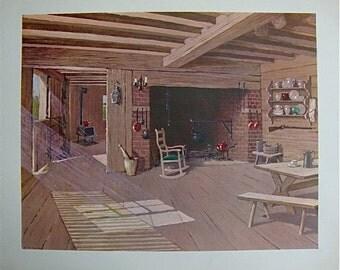 1958 Donald Art Company Print NO. 2629