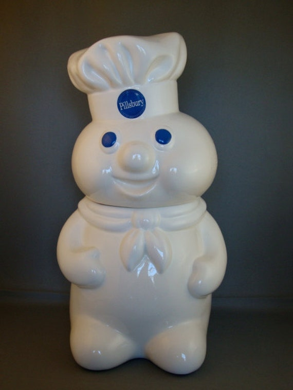 Pillsbury Doughboy Cookie Jar from 1988.