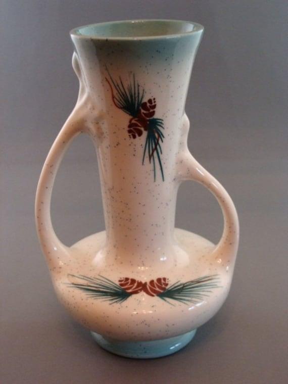 Vintage Pine Cone Vase