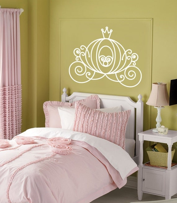 Items Similar To Vinyl Wall Decal CINDERELLA CARRIAGE
