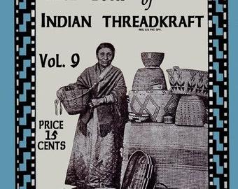 Bucilla 9 c.1917 Crochet Patterns for Native American Style Baskets