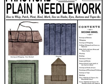Weldon's 2D (103) c.1893 - Practical Plain Needlework and Tailoring Techniques (Second Book)