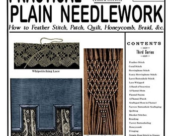 Weldon's 2D (106) c.1893 - Practical Plain Needlework and Tailoring Techniques (Third Book)