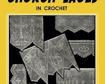 Weldon's 4D (100) c.1935 - Crocheted Church Laces