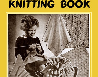 Weldon's 4D (142) c.1939 - Children's Knitting Book