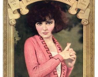 Minerva (6) c.1921 Flapper era Fashion Knitting and Crochet Pattern Book