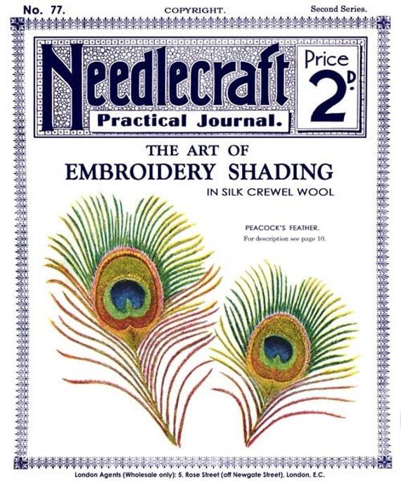 Needlecraft practical journal c the art of
