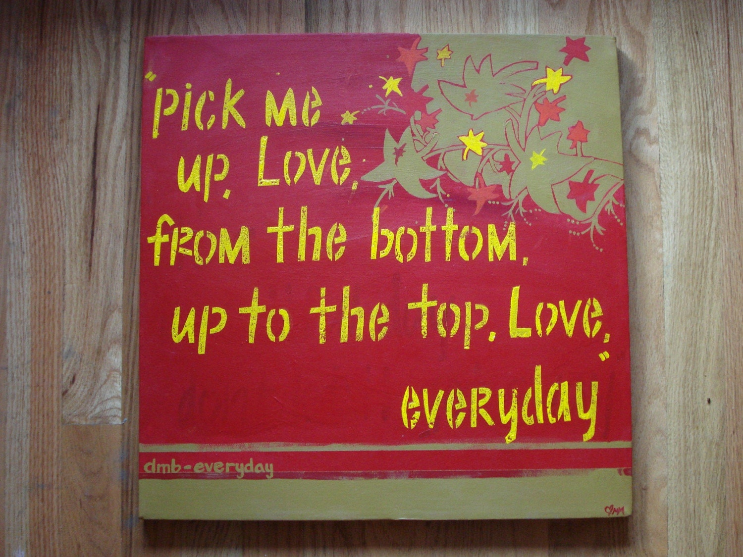 Large Canvas Painting Lyrics From Dave Matthews
