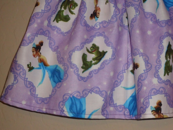CLEARANCE - Disney Tiana Inspired - Baby Toddler Skirt - The Princess and the Frog - Great for Birthdays and Everyday - 2/3t - FREE SHIPPING
