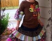 Alexandria Twirl Skirt - newborn to women's sizes - PDF instructions - E Book - pattern - 4 ruffled layers - DIY