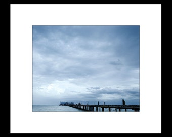 Fishing Pier 8X10 Custom Print