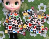 Use Promocode:  Blythe / Pullip - Quilted Pattern Jacket