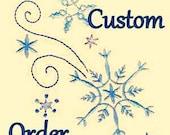 Custom order for Millie