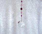 Suncatcher, Fuschia & Pink, Twist