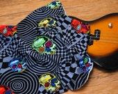 Rocker Skull Lovey Blanket