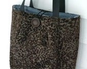 Brown Texured Bag