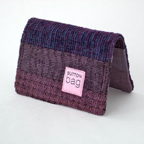 Card Case. Purple Layers