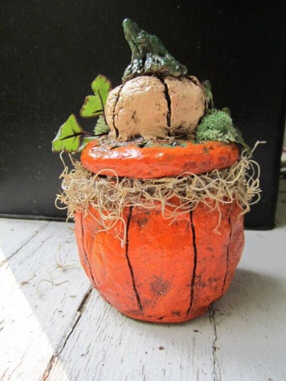 Give Thanks Pumpkin Jar