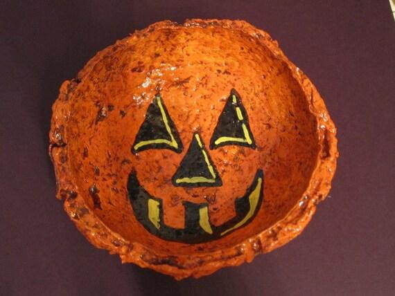 Pumpkin Treat Bowl