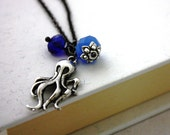 Octopus Nautical Necklace : Ollie the Octopus