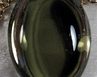 40x30mm - Olivene - Acrylic Cabochon - 1 pc : sku 12.03.11.8 - P22