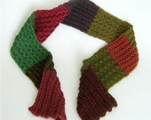 Stash Eater Sampler Scarf Ribbing knitting pattern