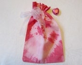 Small Pink Tie-dye Gift Bags