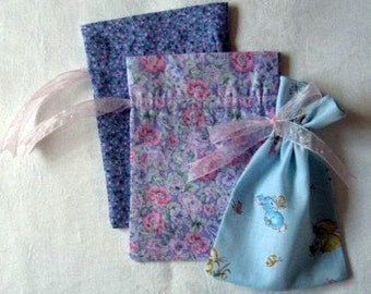 Pastel Gift Bags set of 3