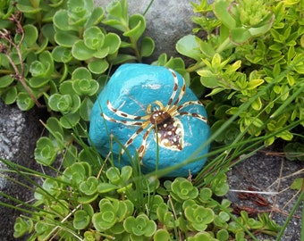 Garden Spider Rock Art