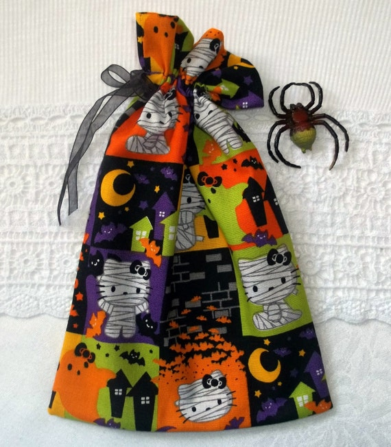 Items similar to hello kitty halloween gift goody bag on etsy