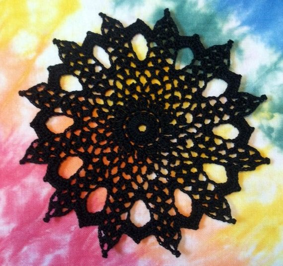 The Little Black Doily (Everyone needs one)