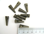 cones - 21 mm - ten pieces