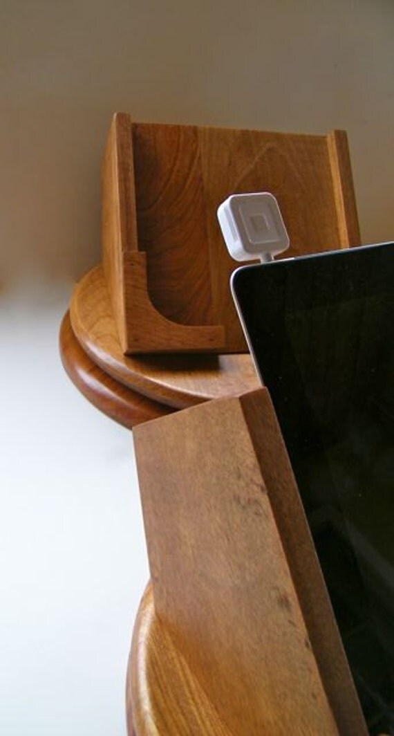 The Original Cherry iPad Swivel Stand -use with Square - FREE SHIPPING