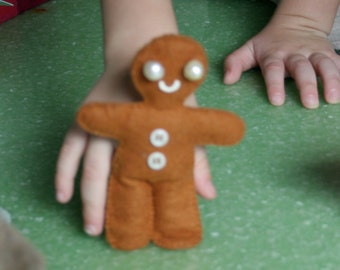 Run, Run As Fast As You Can - Gingerbread Finger puppet