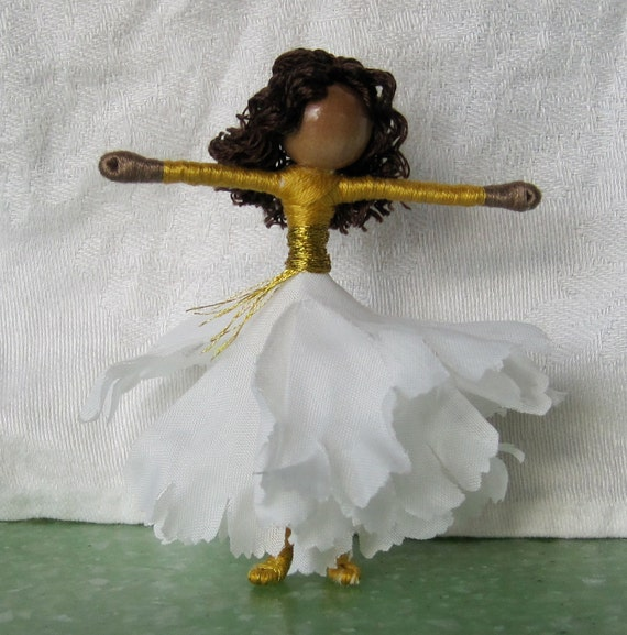 Back to School colors Doll - Sorority Doll, Football Fairy, Greek Fairy, School Fairy