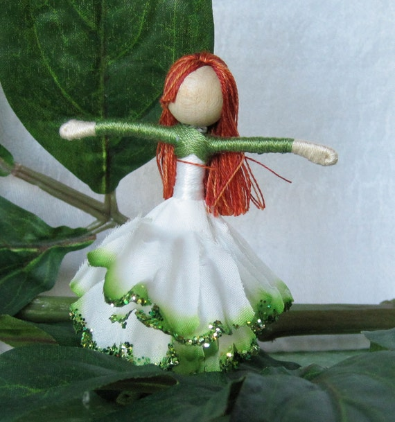 St Patrick S Day Fairy Waldorf Flower Fairy Carnation