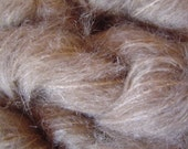 Mohair Yarn in Paper Sand Brown Fingering Weight