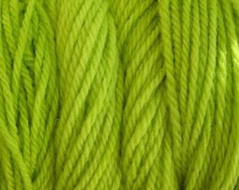 Rain Green Hand Dyed Merino Wool Worsted Weight