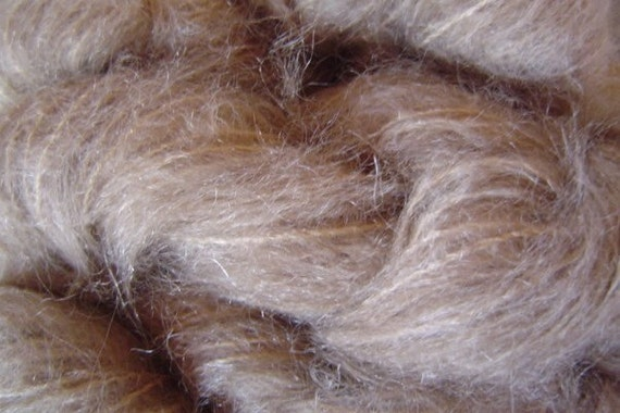 Mohair Yarn in Paper Sand Brown