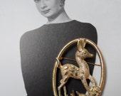 Vintage 1960s DOE A DEER Brooch